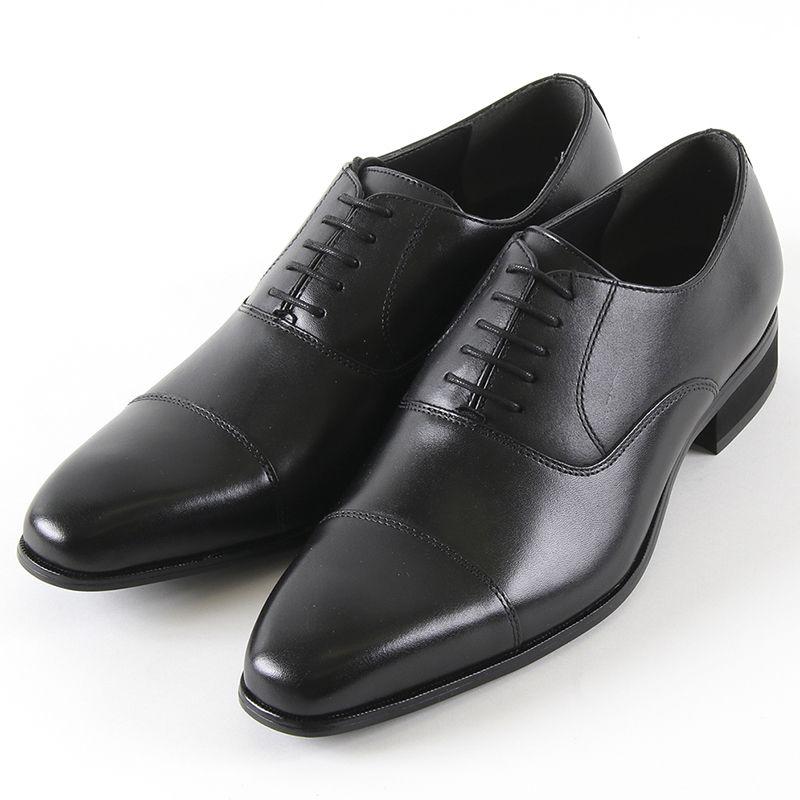 お得なクーポン配布中!&エントリーでP5倍!HIROKO KOSHINO ヒロコ コシノ 119 ビジネス メンズ ブラック 24.5~27cm 靴 シューズ