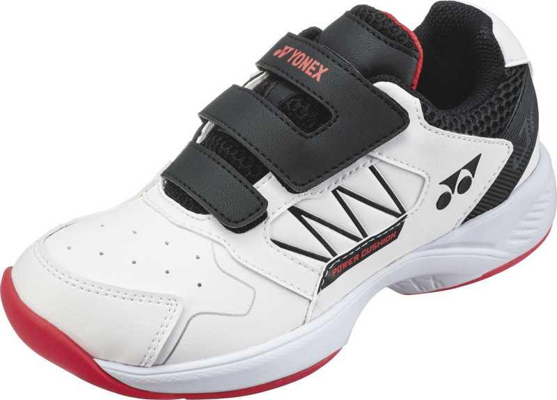 ヨネックス YONEX SHTJRCC テニス シューズ パワークッションジュニアCC ホワイト/ブラック 21SS【5営業日以内に発送】