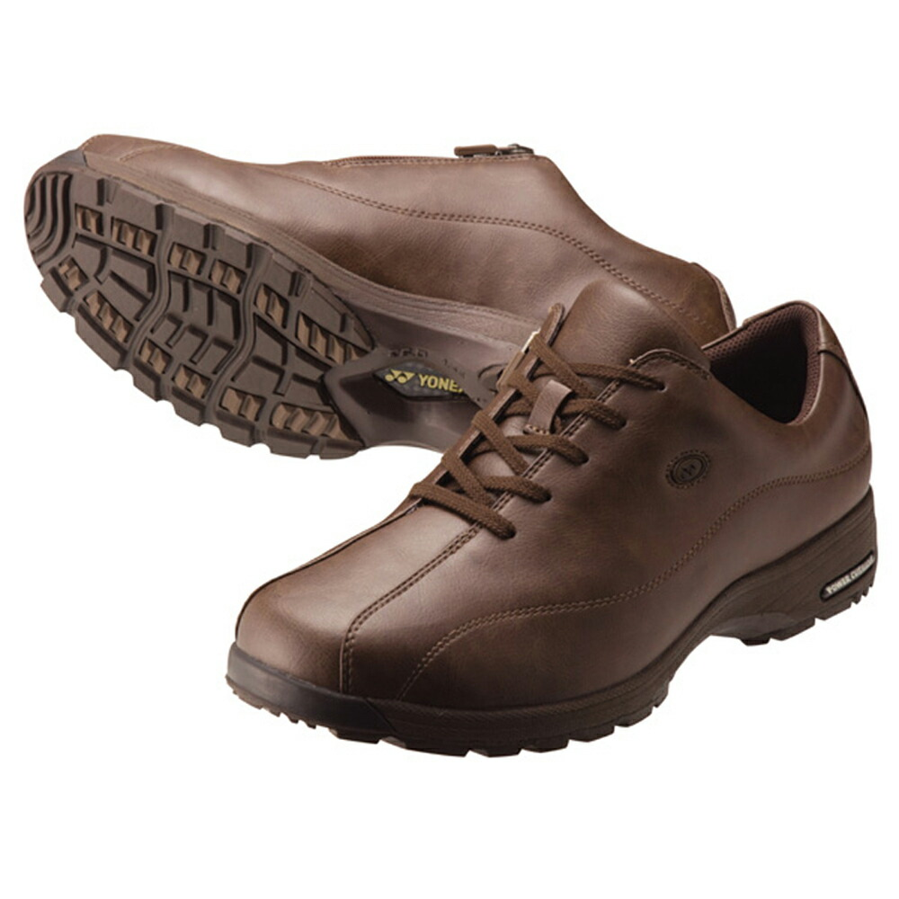 定番キャンバス 今がお買い得 祝開店大放出セール開催中 ヨネックス YONEX YNX-SHWMC21 パワークッションMC21 015 ブラウン シューズ ウォーキング メンズ 靴