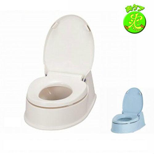 安寿 簡易設置型洋式トイレ サニタリエースHG両用式 【介護用品】便器/便座が低い/ひざの負担/立ちあがり/しゃがみこみを楽に【通販】