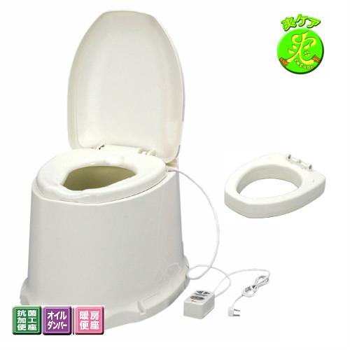 【送料無料】安寿 簡易設置型洋式トイレ サニタリエースSD据置式  <暖房便座> 補高#8 【介護用品】便器/便座が低い/ひざの負担/立ちあがり/しゃがみこみを楽に【通販】