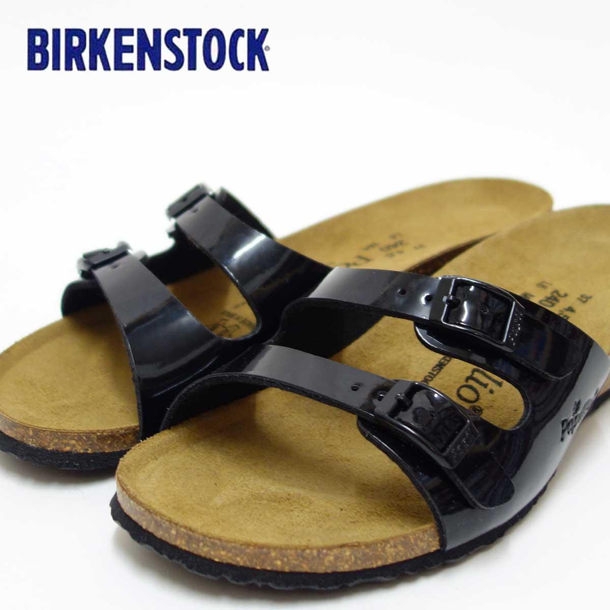 ビルケンシュトックPapillio パピリオ Anne(アニー)レディース 403173(ブラックパテント)お洒落なウェッジヒールのフットベッド「靴」