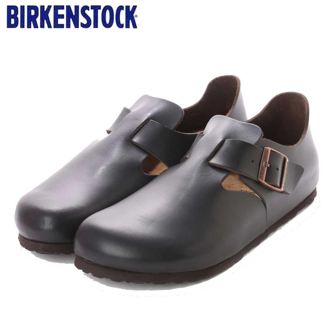 ビルケンシュトック BIRKENSTOCK LONDON(ロンドン)ユニセックス GS 1004304(スムースレザー/ダークブラウン) 「靴」