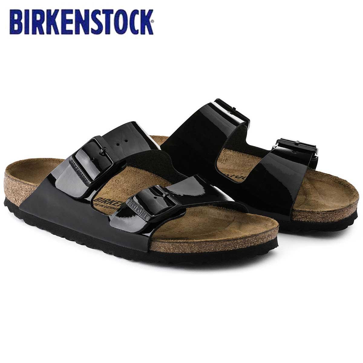 ビルケンシュトック BIRKENSTOCK ARIZONA(アリゾナ)GC 1005292 ブラック パテント(ビルコフロー)(レディース サンダル)「正規輸入品」ドイツ生まれの快適サンダル「靴」