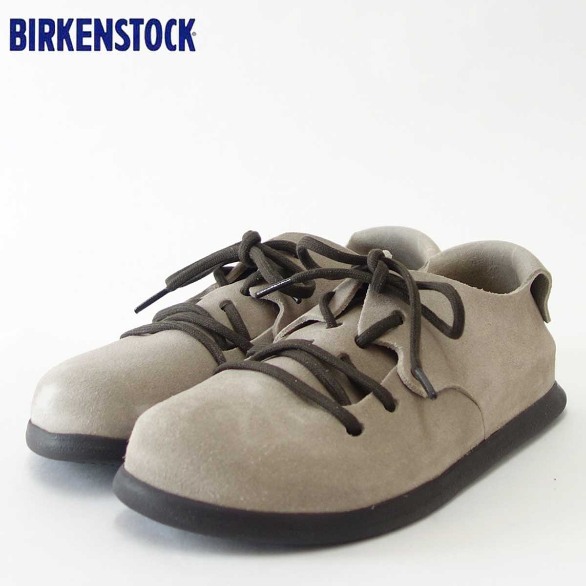 BIRKENSTOCK(ビルケンシュトック)Montana(モンタナ)幅狭(ナローフィット)GC 1006239(スエードレザー/トープ)ドイツ生まれの快適フットベッド(正規輸入品)「靴」