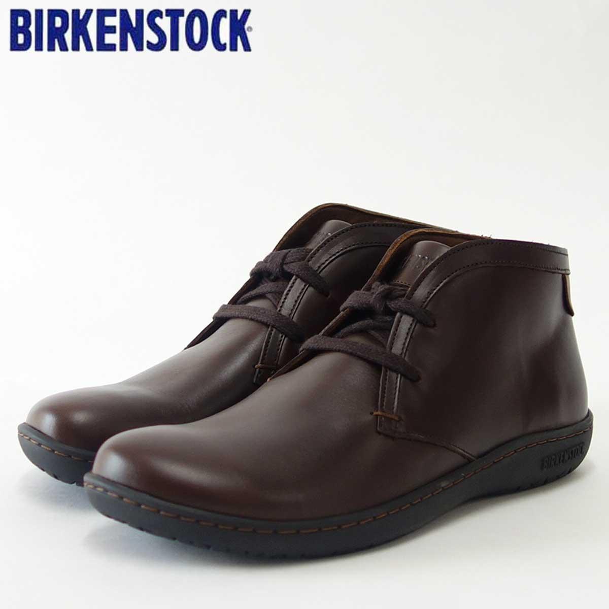 BIRKENSTOCK ビルケンシュトックSCARBA(スカルバ)レディース GS 1007028(ナチュラルレザー/エスプレッソ)「靴」