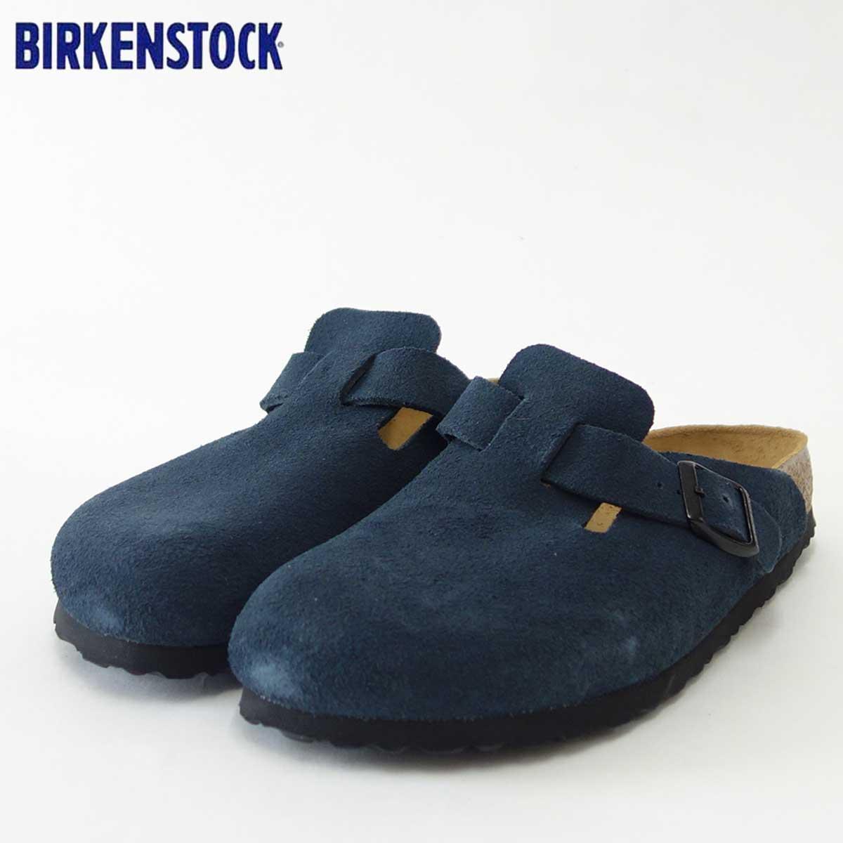 最高の BIRKENSTOCK(ビルケンシュトック)Boston(ボストン)幅狭(ナローフィット)GC 1008072(スエードレザー/ネービー)ドイツ生まれの快適クロッグ(正規輸入品)「靴」, 浦川原村:cee81845 --- thachcaotunhien.com