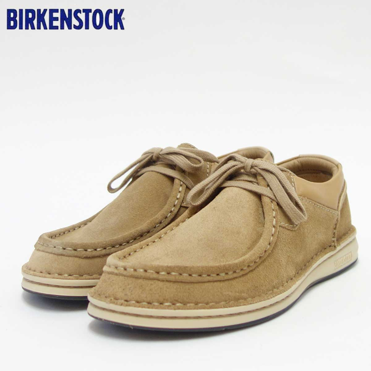 BIRKENSTOCK(ビルケンシュトック)PASADENA(パサデナ)幅狭(ナローフィット)GC 1008623(スエードレザー/サンド)ドイツ生まれの快適フットベッド(正規輸入品)「靴」