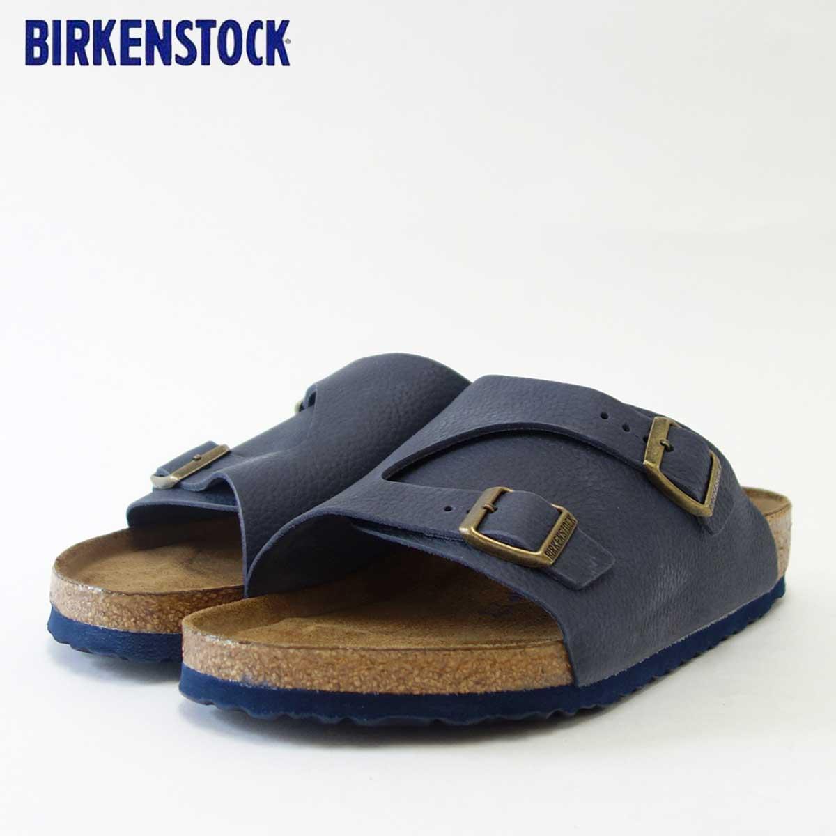 BIRKENSTOCK ビルケンシュトック ZURICH SFB(チューリッヒ) GC 1008907 天然皮革/インディゴ(メンズ サンダル)「正規輸入品」 「靴」