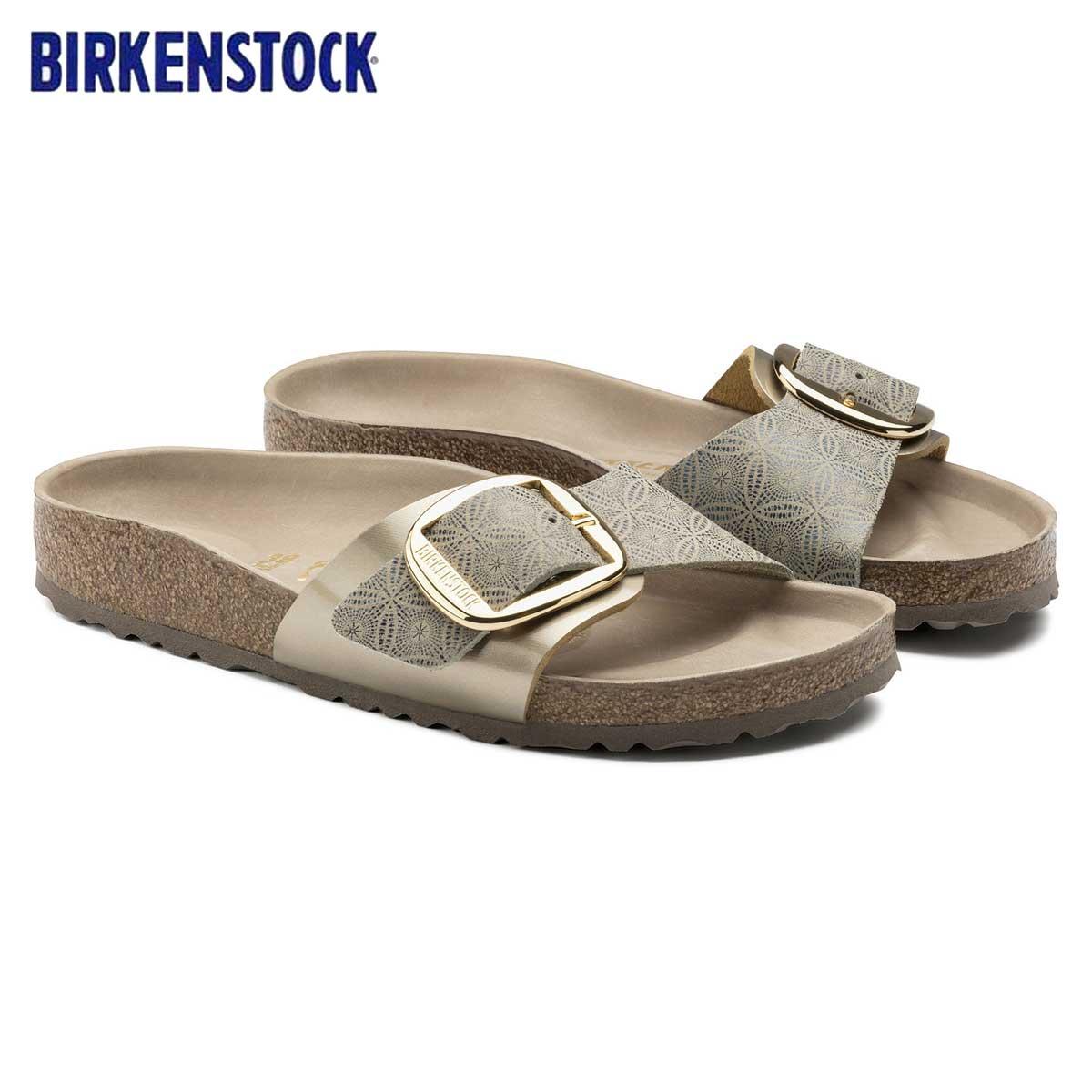 ビルケンシュトック BIRKENSTOCK MADRID Big Buckle(マドリッド) GC 1009033 セラミックパターン ブルー(レディース)「正規輸入品」 「靴」