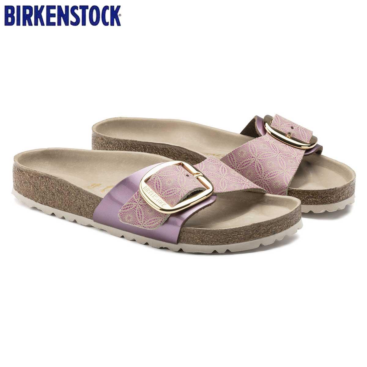 ビルケンシュトック BIRKENSTOCK MADRID Big Buckle(マドリッド) GC 1009035 セラミックパターン ローズ(レディース)「正規輸入品」 「靴」