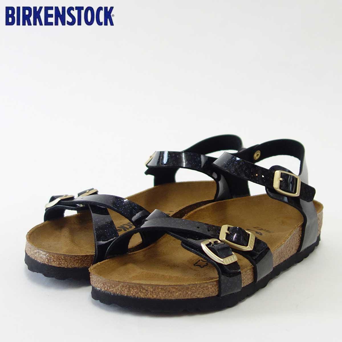 BIRKENSTOCK ビルケンシュトック KUMBA(クンバ)GC 1009135 マジックスネークブラック(レディース)「正規輸入品」ドイツ生まれの快適サンダル「靴」