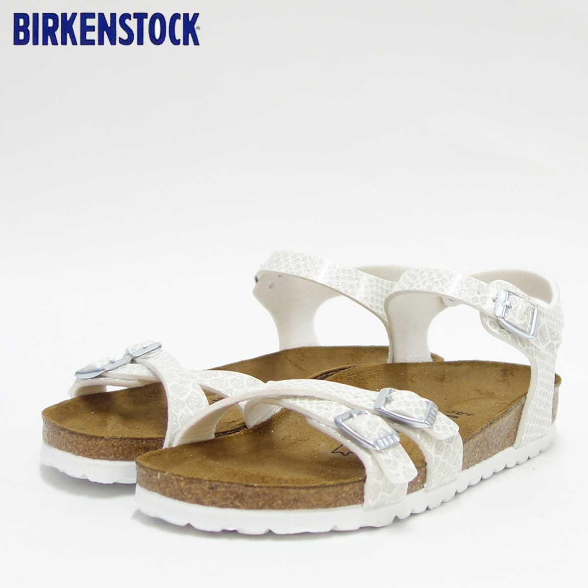 BIRKENSTOCK ビルケンシュトック KUMBA(クンバ)GC 1009138 マジックスネークホワイト(レディース)「正規輸入品」ドイツ生まれの快適サンダル「靴」