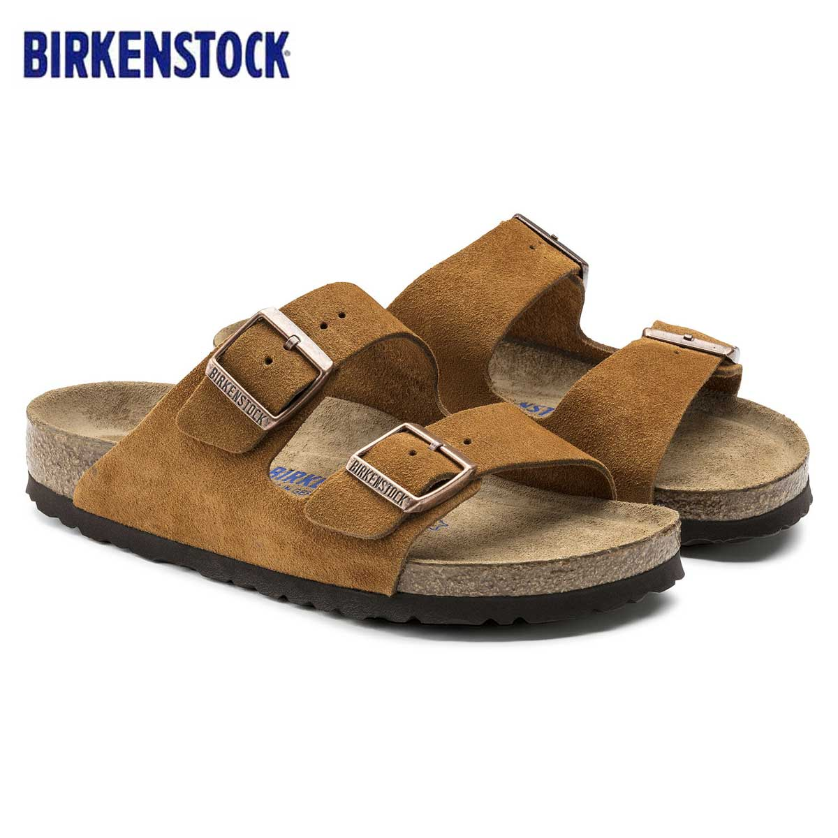 BIRKENSTOCK ビルケンシュトック ARIZONA(アリゾナ)GC 1009527 ミンク(スエードレザー)(レディース サンダル)「正規輸入品」ドイツ生まれの快適サンダル「靴」