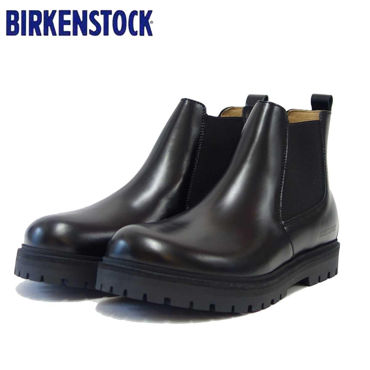 ビルケンシュトック BIRKENSTOCK STALON(スタロン)メンズ GS 1010661(ナチュラルレザー/ブラック) 「靴」