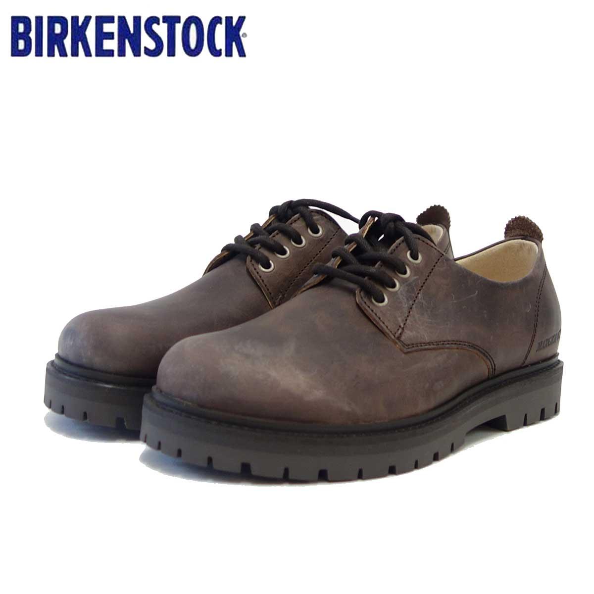 ビルケンシュトック BIRKENSTOCK KLEFAR(クレイヴァル)メンズ 1010669(ナチュラルレザー/モカ) 「靴」
