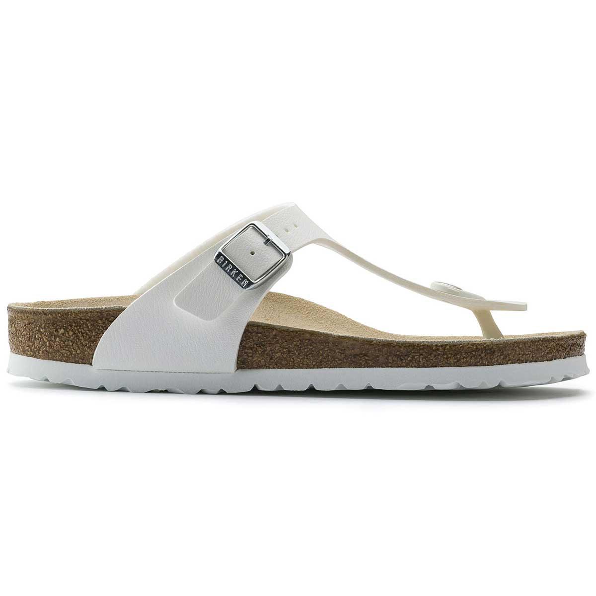 ビルケンシュトック BIRKENSTOCK GIZEH(ギゼ)ホワイトGC 043731 (レギュラーフィット 幅広)ドイツ生まれの快適サンダル 「正規品」「靴」