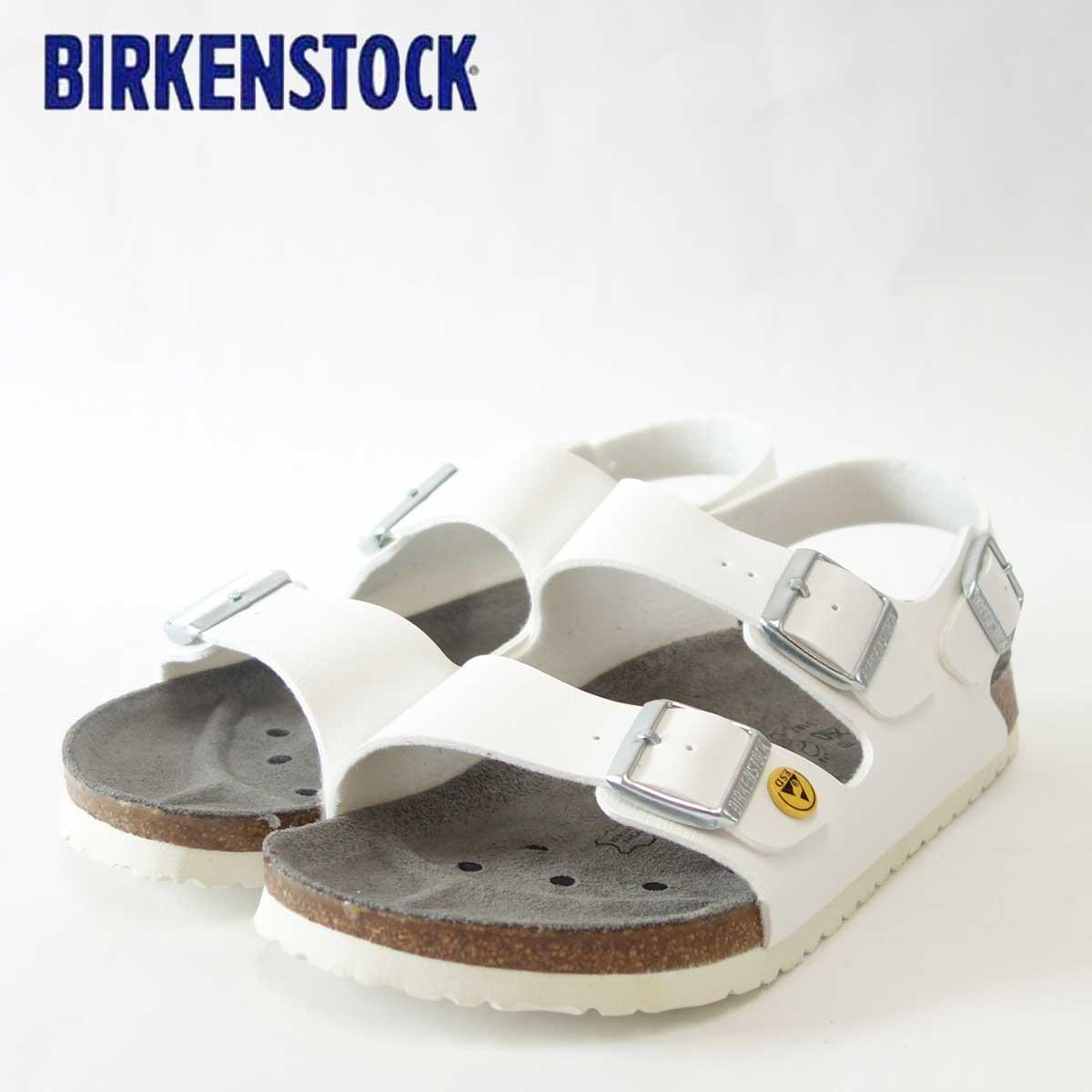BIRKENSTOCK ビルケンシュトック プロフェッショナル MILANO(ミラノ) ESD(帯電消散機能付き)GP 634880 ホワイト(メンズ)「靴」サンダル ALPRO アルプロ 医療機関用