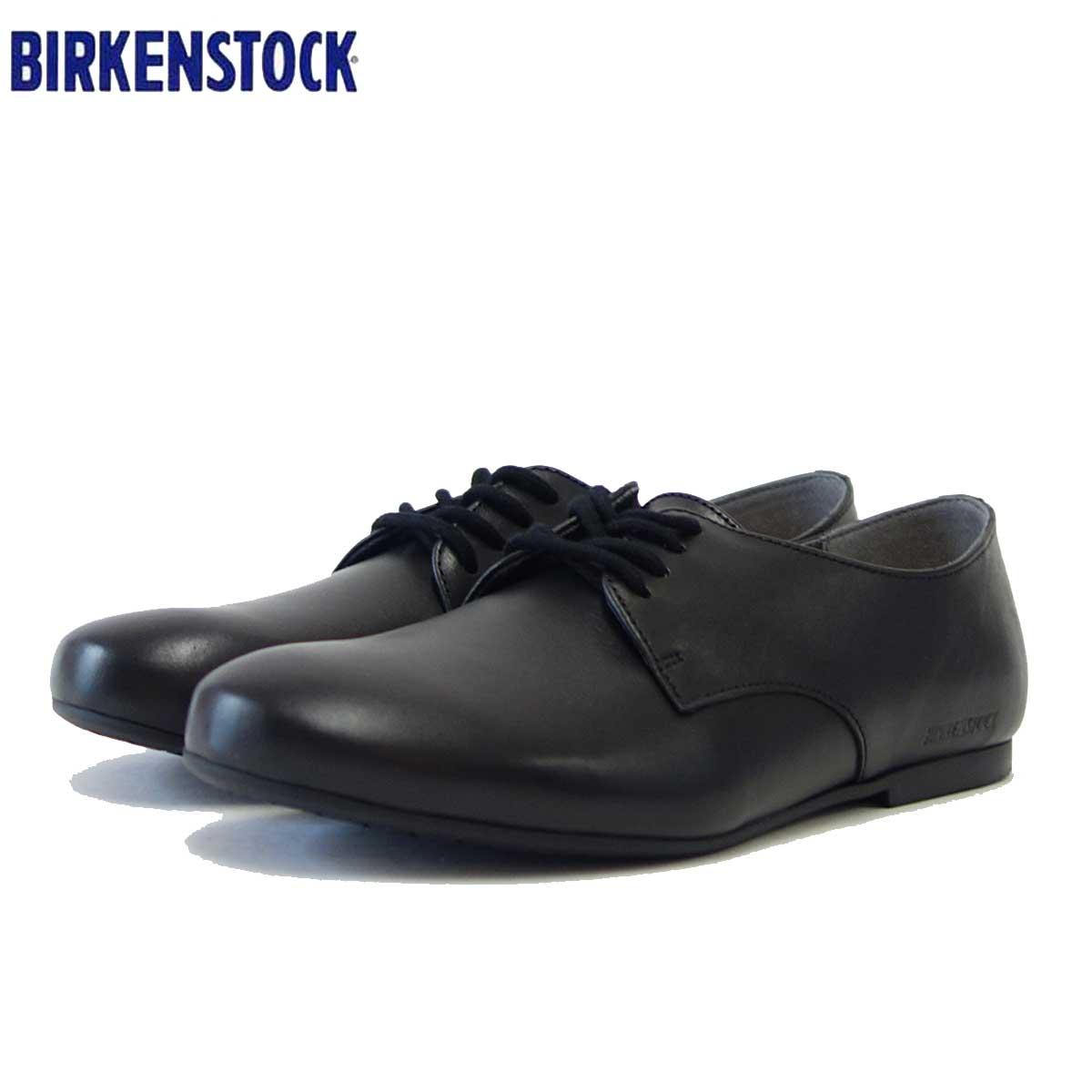 ナチュラルなレースアップシューズ(正規輸入品) 送料無料商品 【エントリーでポイント15倍(大感謝祭)】ビルケンシュトック BIRKENSTOCK SAUNDERS(ソーンダース)レディース 1006335(天然皮革/ブラック)「靴」