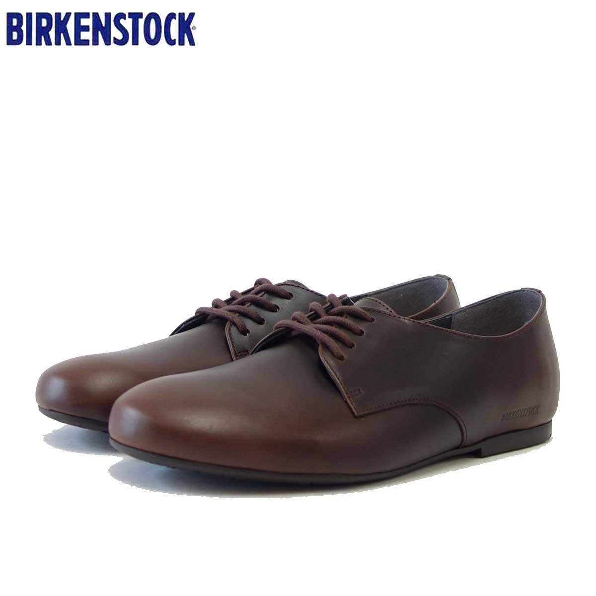 ビルケンシュトック BIRKENSTOCK SAUNDERS(ソーンダース)レディース 1013203(天然皮革/マホガニー)「靴」