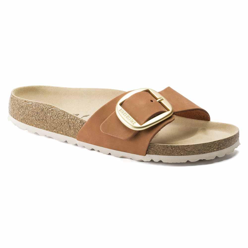 ビルケンシュトック BIRKENSTOCK MADRID Big Buckle(マドリッド ビッグバックル) 1015717 Brandy(ヌバックレザー) (レディース サンダル)「正規輸入品」 「靴」