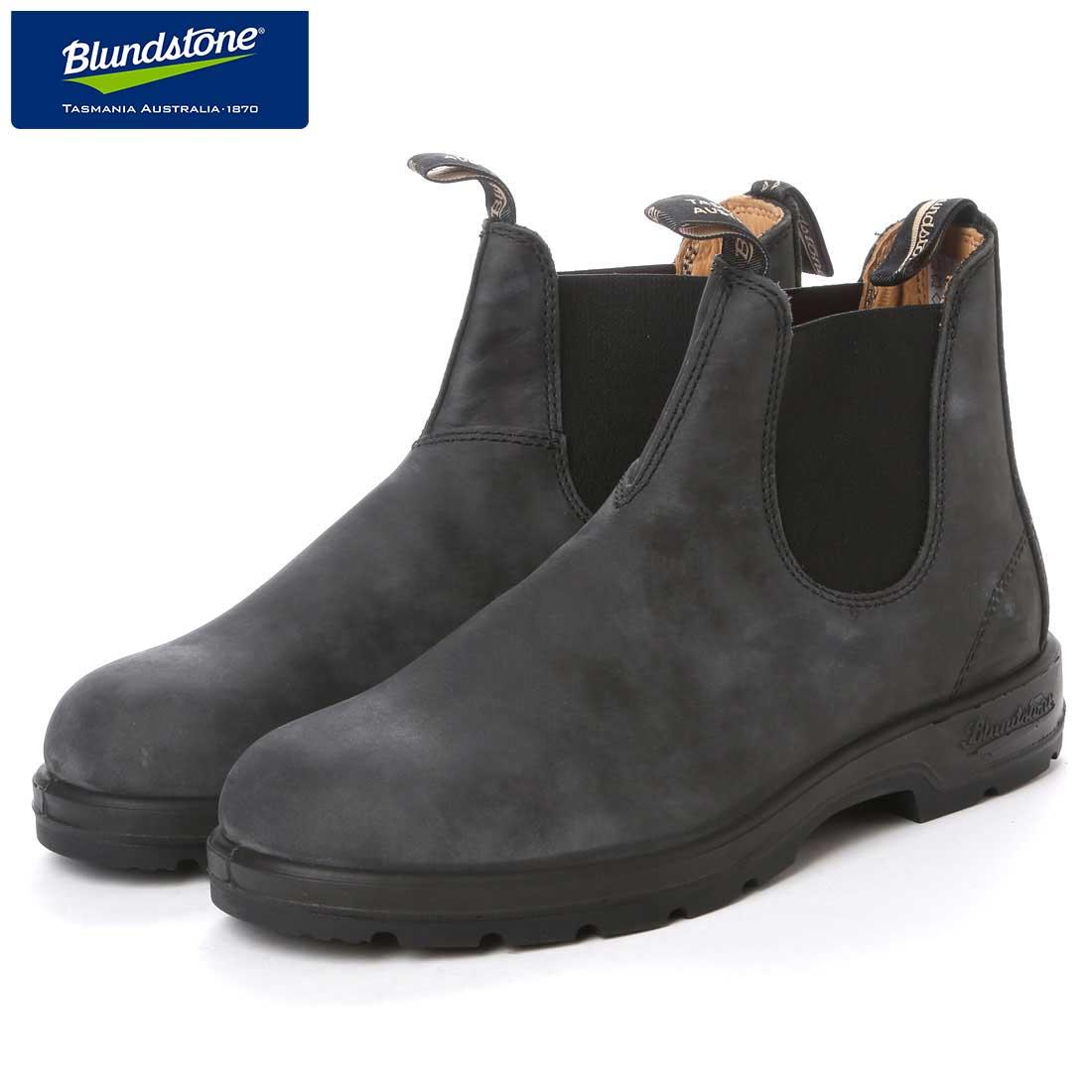 ブランドストーン Blundstone BS587 056 (ユニセックス) ラスティックブラック(オイルレザー) 「靴」