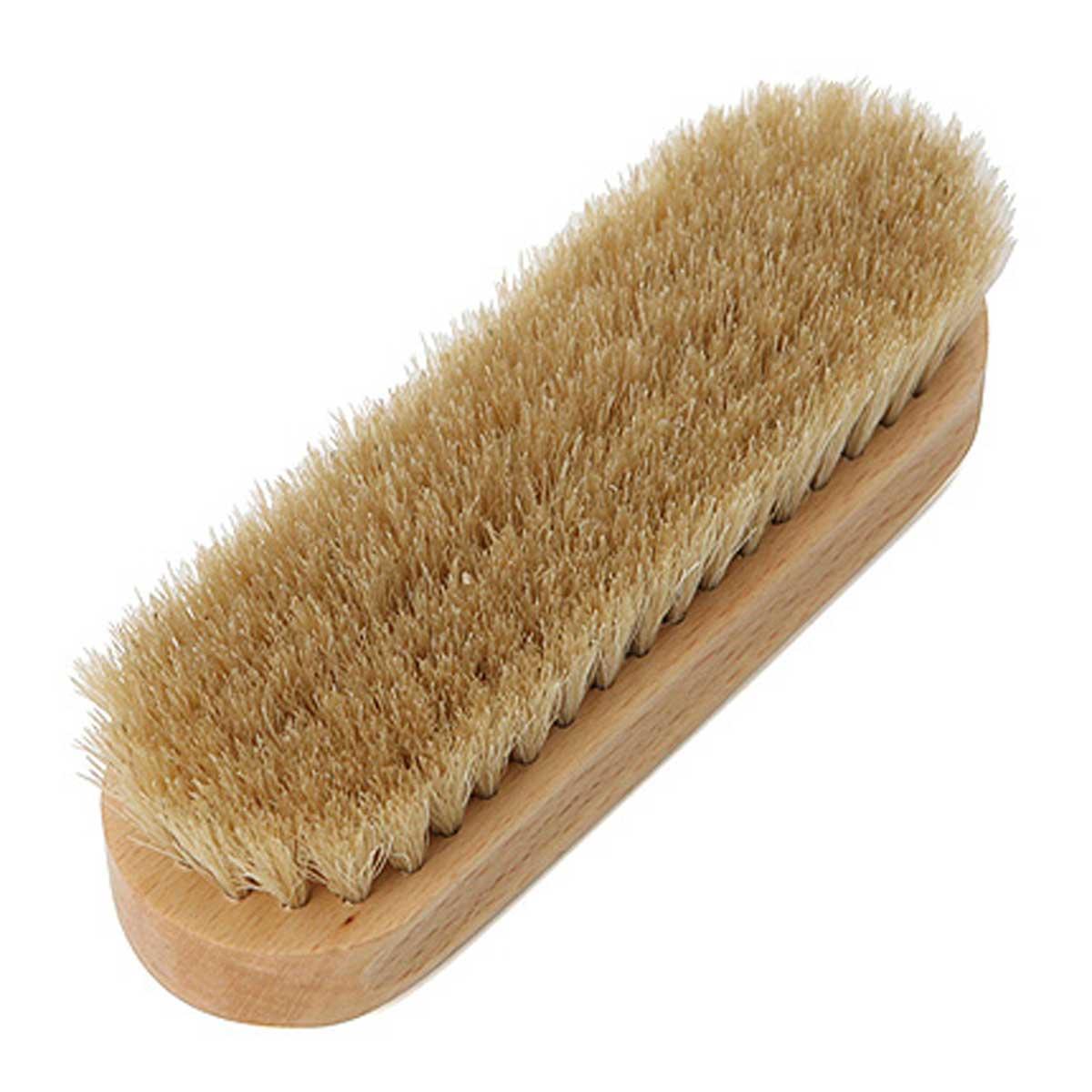 DASCO ダスコ ホースヘアブラシ(スモール)埃払いや、艶出し用の馬毛ブラシ(イギリス製)