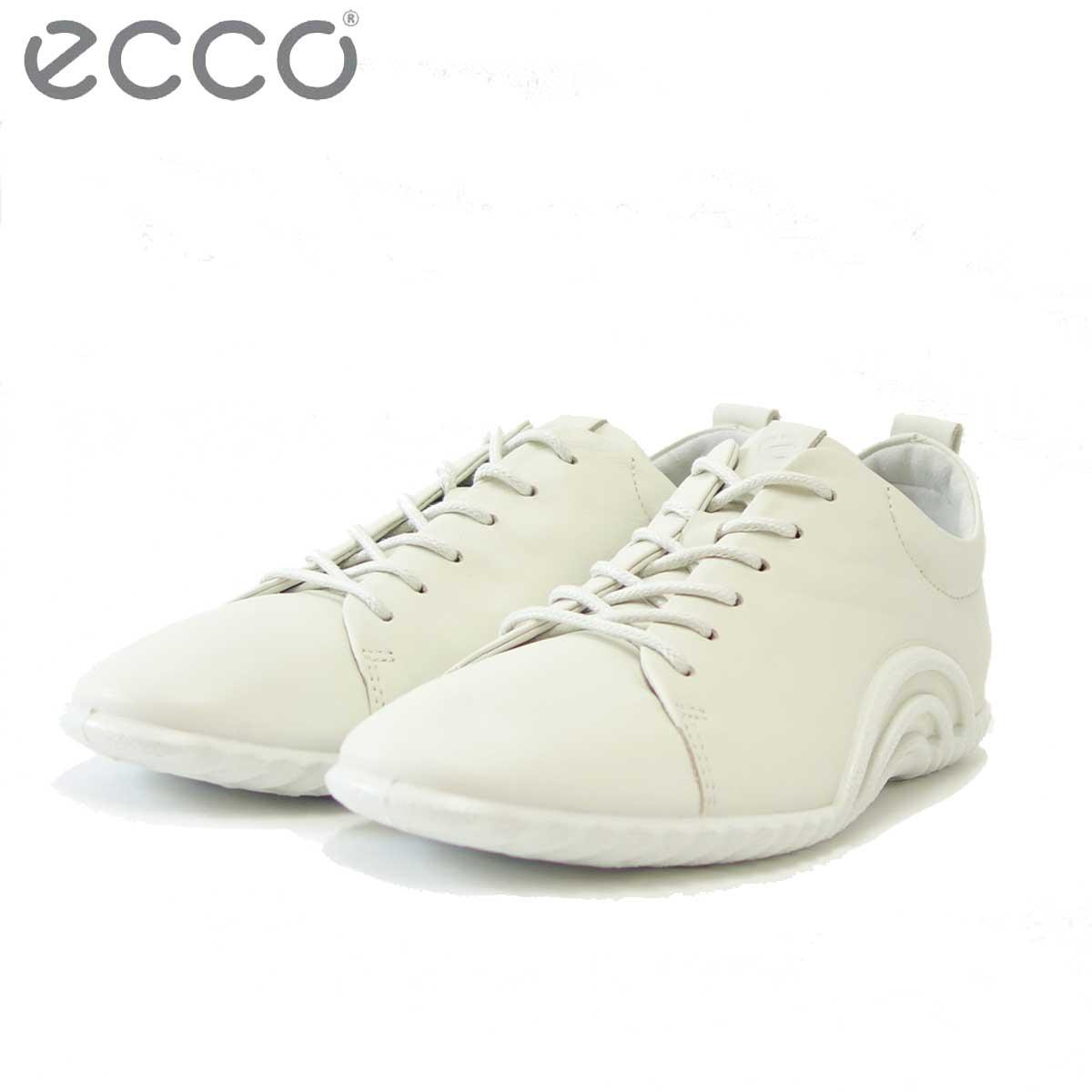 エコー ECCO 206113 シャドーホワイト(レディース) 快適な履き心地のレースアップシューズ 「靴」