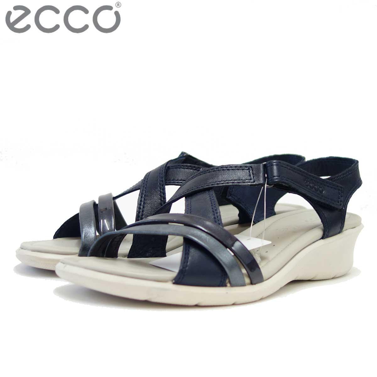ECCO エコー 216513 ナイトスカイ 快適な履き心地のバックストラップサンダル(レディース) 「靴」
