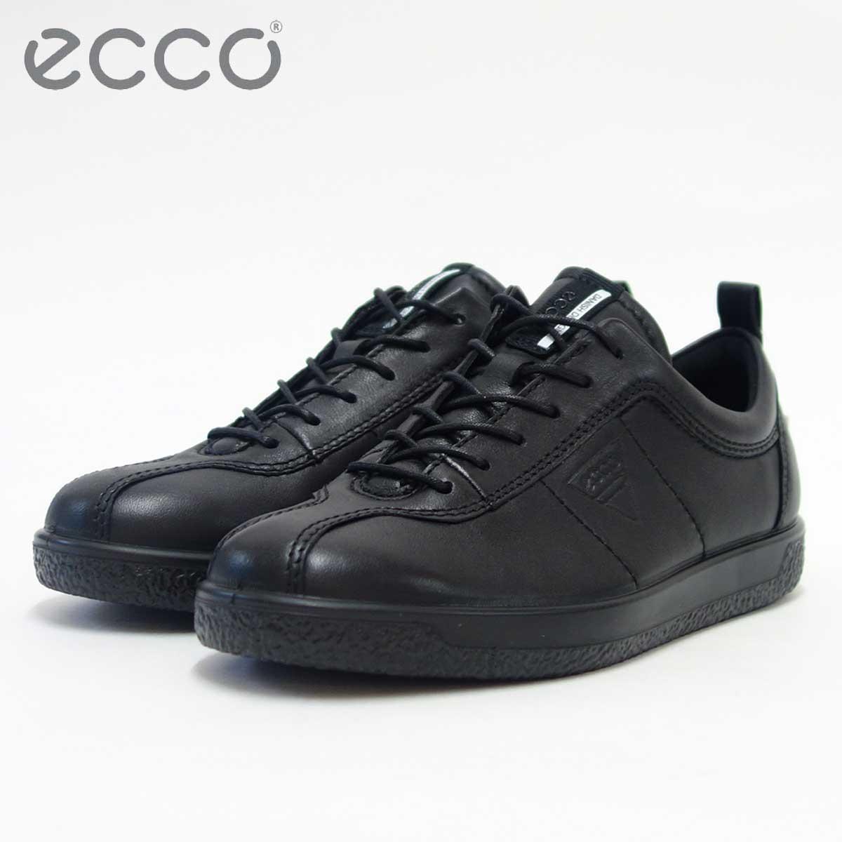 エコー ECCO 400503 ブラック(レディース) 快適な履き心地のレースアップシューズ 「靴」