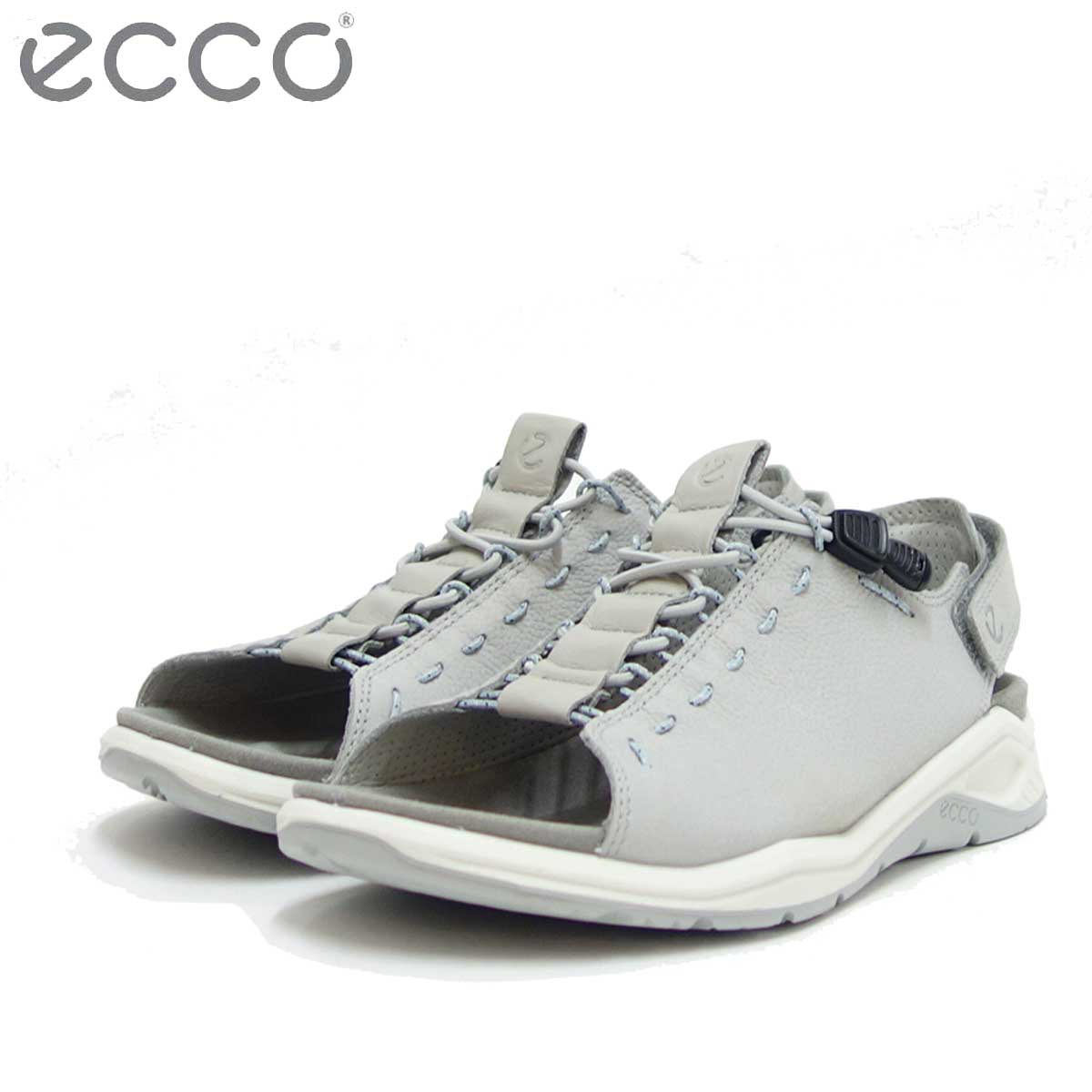 ECCO エコー 880683 X-TRINSIC グレー 快適な履き心地のバックストラップサンダル(レディース) 「靴」