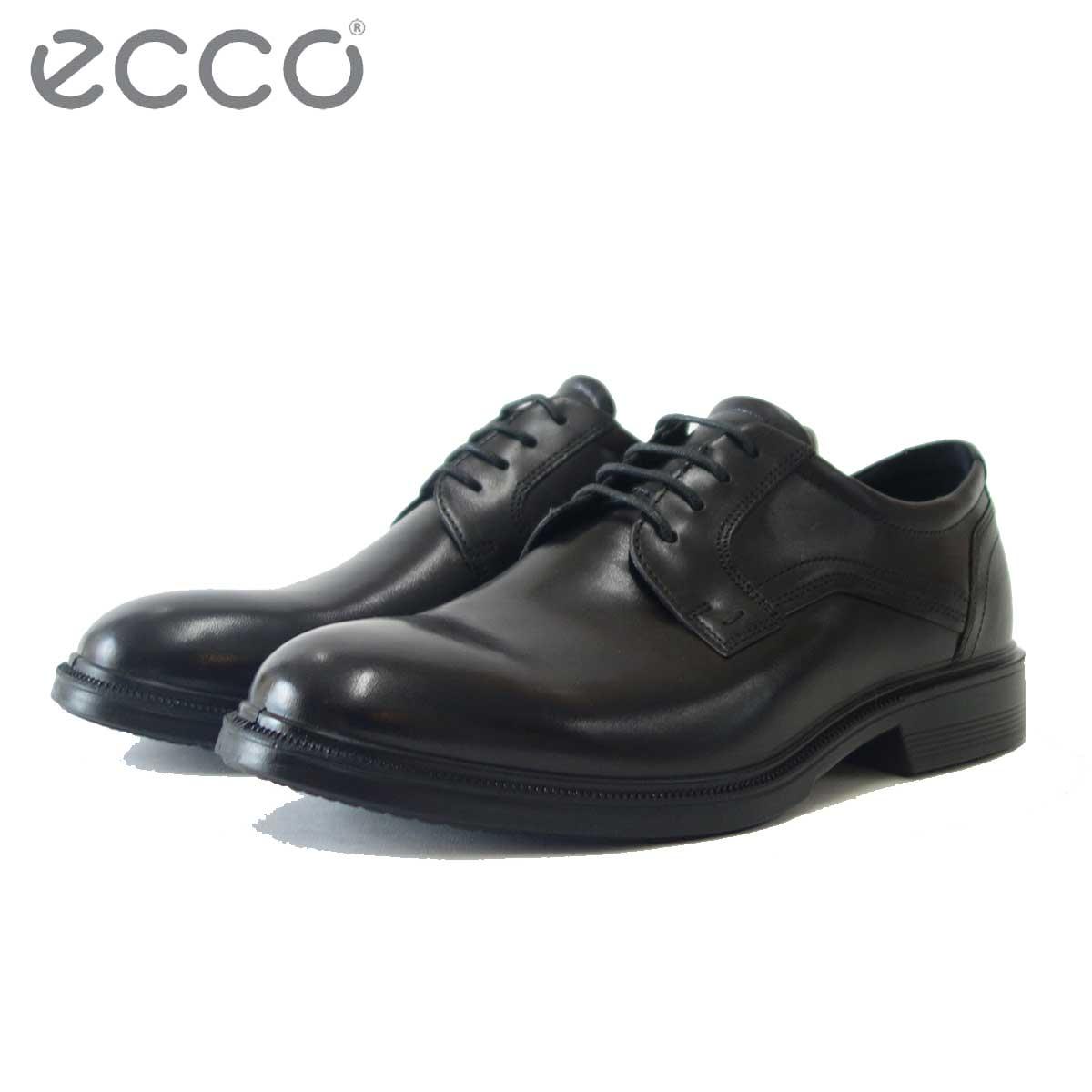 エコー ECCO 622104 ブラック(メンズ)上質レザーのビジネスシューズ(レースアップ) 「靴」