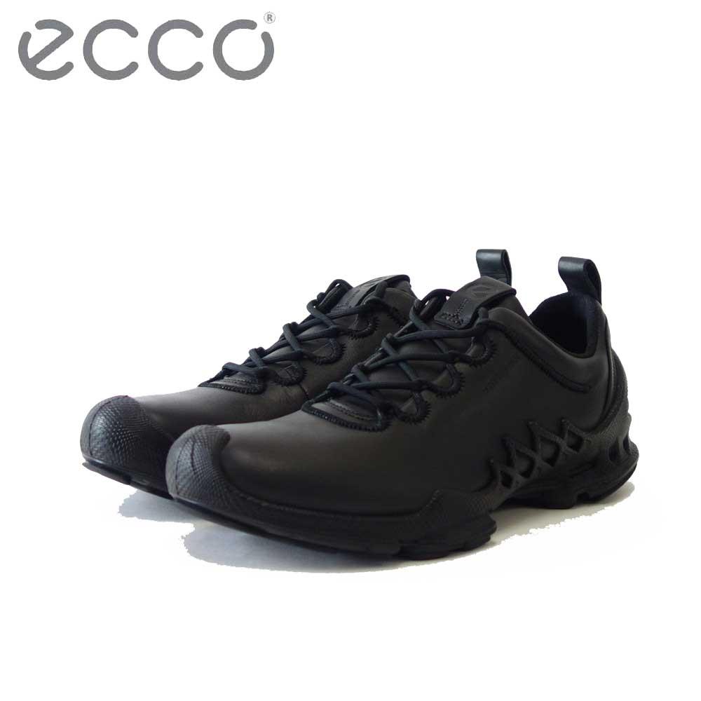 エコー ECCO BIOM AEX Mens LOW Hydromax  ブラック 802834(メンズ)天然皮革 アウトドア ウォーキング シューズ スニーカー