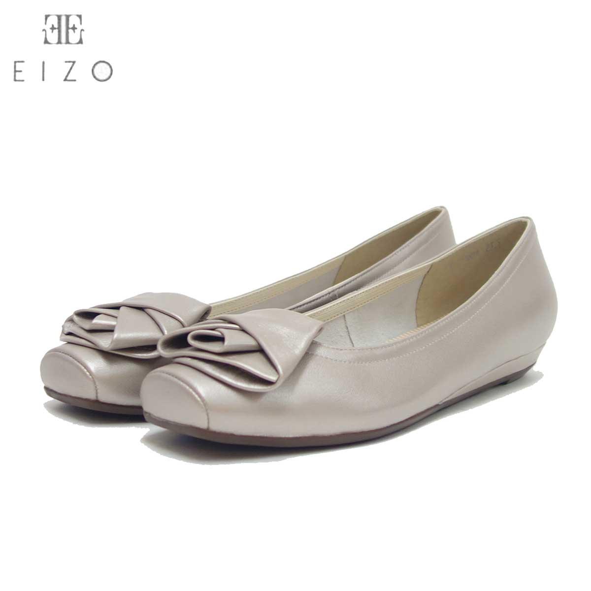 Vue ビュー EIZO Collection 11601 オーク(メタリック) 快適フィットのバレエシューズ 「靴」