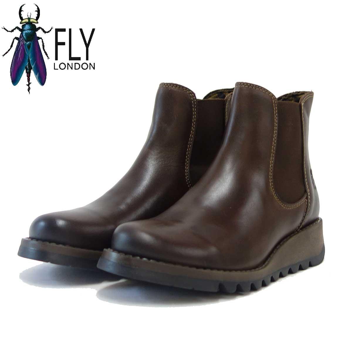 フライロンドン FLY LONDON SALV 143195 ダークブラウン 「靴」
