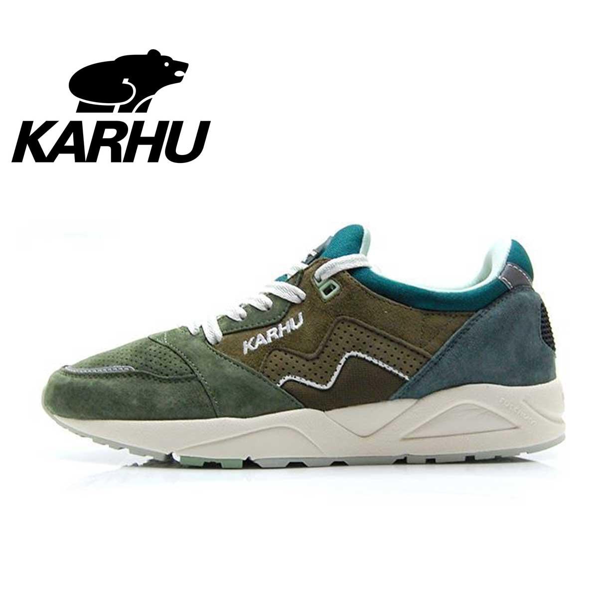 カルフ KARHU KH 803037 ミリタリーオリーブ/グリーンケーブル(ユニセックス) Aria(アリア) 「靴」