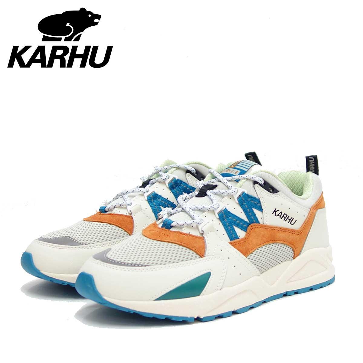 カルフ KARHU KH 804071 リリーホワイト/バーントオレンジ(ユニセックス) FUSION 2.0(フュージョン) 「靴」