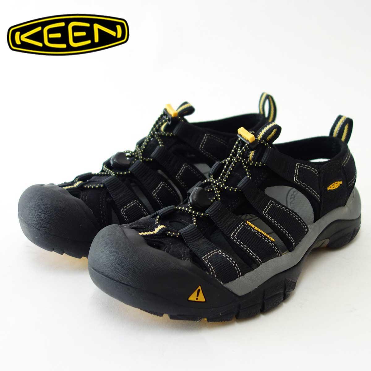 【KEEN キーン】Newport(ニューポート) H2 1001907(メンズ)キーン独自のハイブリッドサンダル カラー:Black(ブラック)【999】