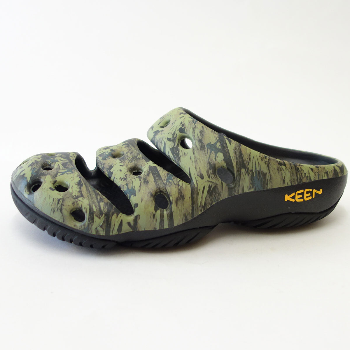 Yogui Arts 1002034 (men's) keen's own weight and relaxcrogg colors:Camo Green shoes shoes shoes