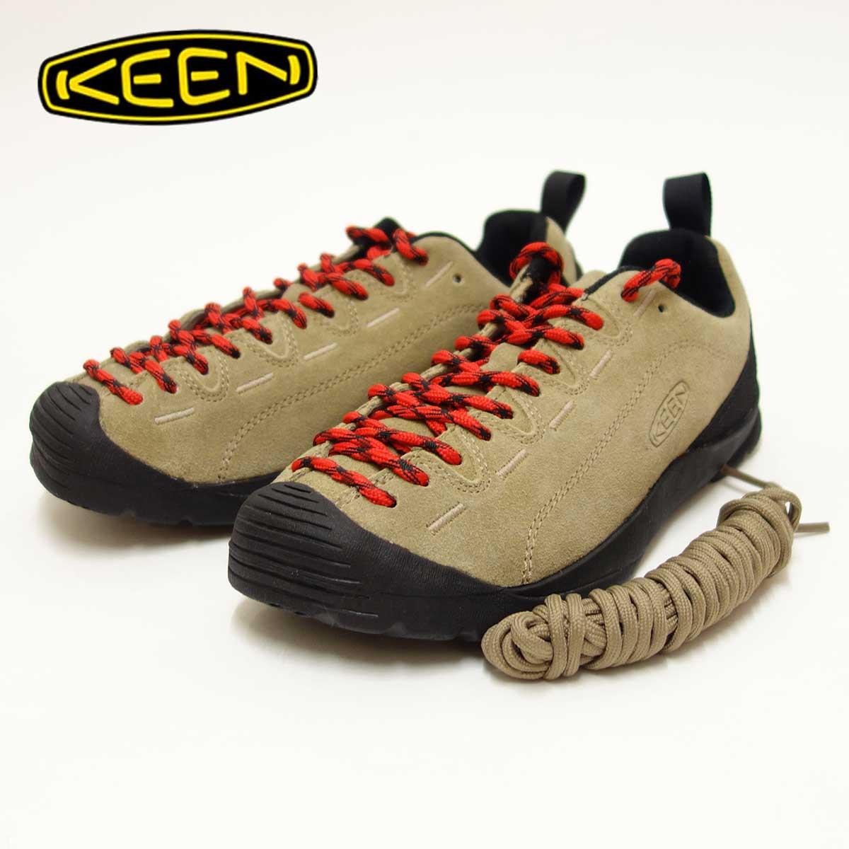 KEEN キーン JASPER ジャスパー 1004347(レディース)コンフォートラストのクライミングデザインカラー:SILVER MINK「靴」