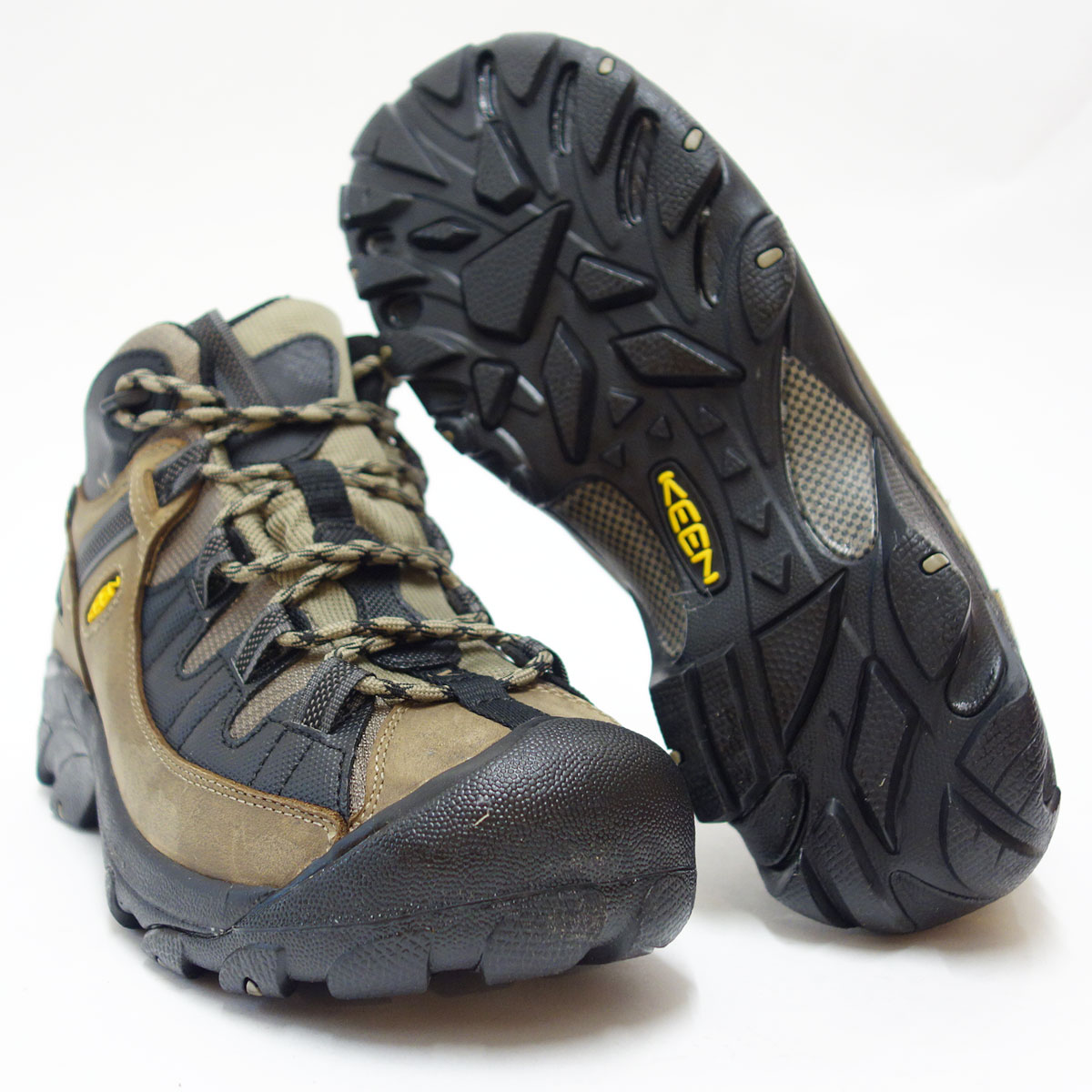 TARGHEE II Mid TAC targets mid tack 1012864 (men's) color:Brindle/Black lightweight and waterproof hybrid hiking shoes