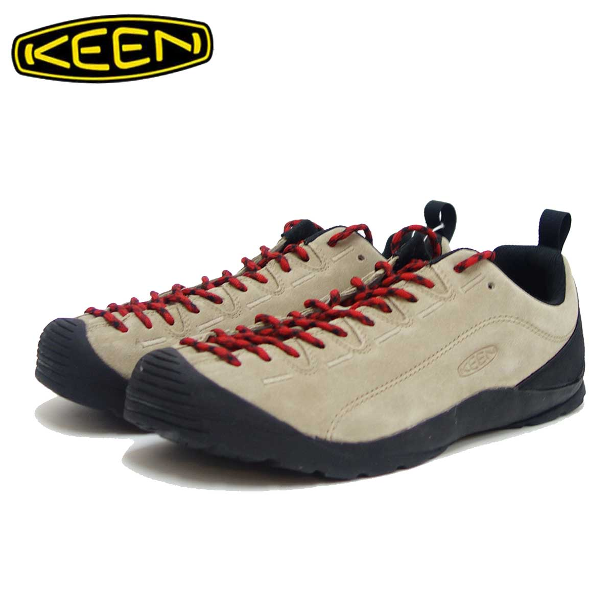 キーン KEEN JASPER ジャスパー 1002672(メンズ)カラー:SILVER MINK コンフォートラストのクライミングデザイン 「靴」