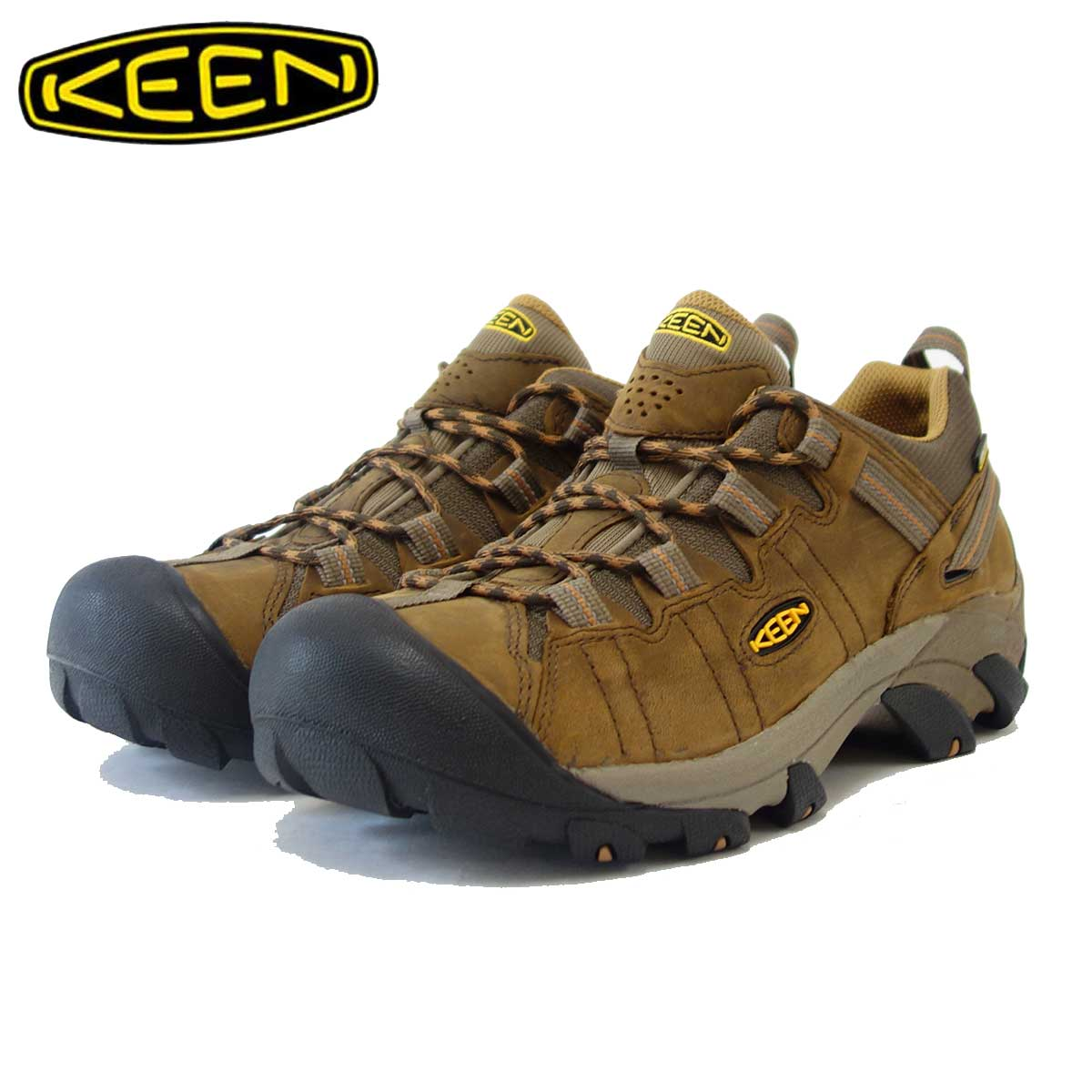 KEEN キーン TARGHEE II ターギー2 1010125(メンズ)カラー:Cascade Brown/Brown Sugar 防水タイプのハイブリッドハイキングシューズ 「靴」