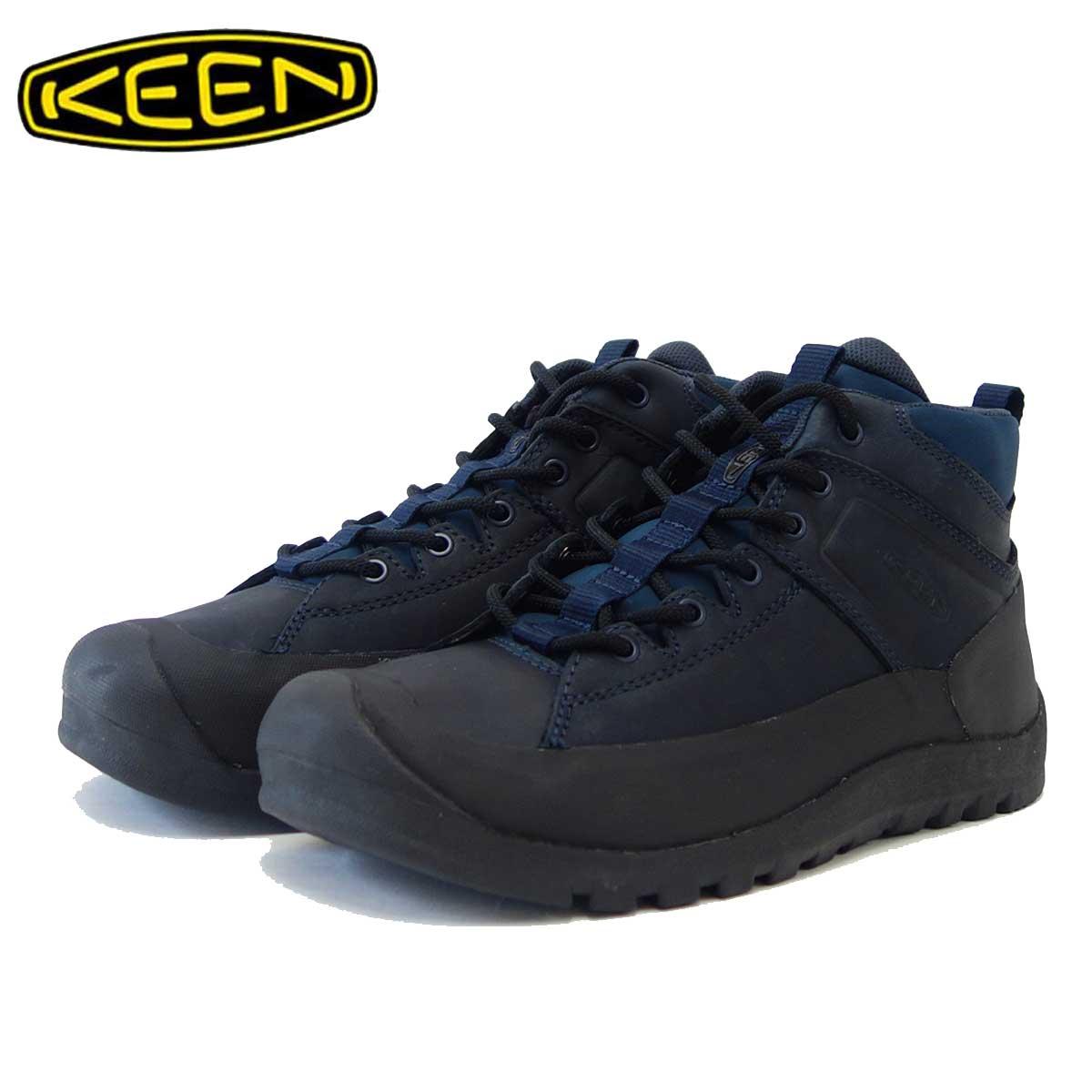 キーン KEEN シティズン キーン リミテッド ウォータープルーフ Citizen KEEN LTD WP 1015143(メンズ) カラー:Dress Blues 「靴」