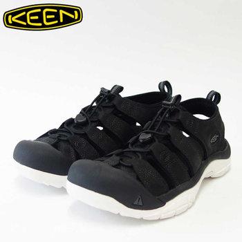 KEEN キーン Newport ATV(ニューポート エーティーヴィ) 1016865(メンズ)キーン独自のハイブリッドサンダル カラー:Black/Star White「靴」