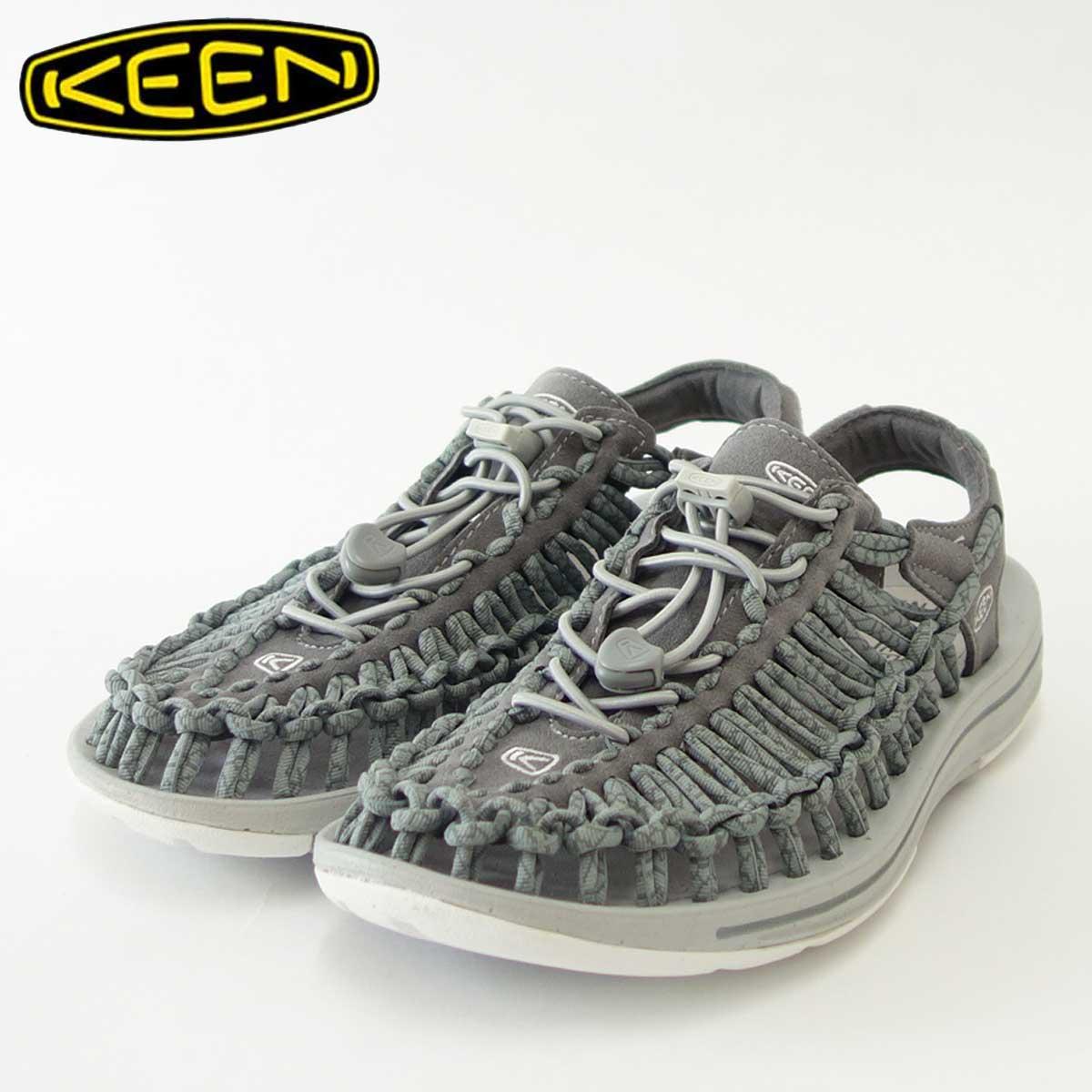 KEEN キーン UNEEK(ユニーク) 1016898(レディース)キーン独自のハイブリッドサンダル カラー:Neutral Gray/Gargoyle 「靴」