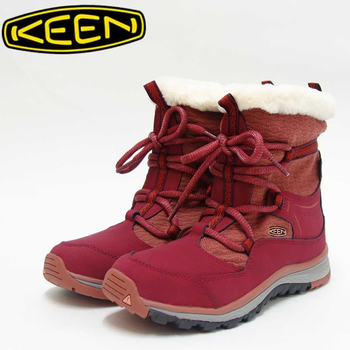 KEEN キーン Terradora Apres WP 1017764 テラドーラ アプレス ウォータープルーフカラー:Rhododendron/Marsala(ウィメンズ)防水仕様、通気性抜群のウィンターブーツ「靴」