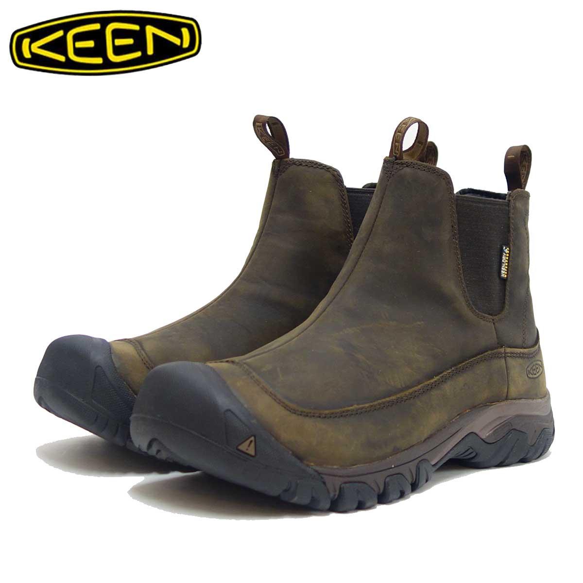 キーン KEEN アンカレッジ ブーツ スリー ウォータープルーフ 1017790 ダークアース(メンズ) 「靴」