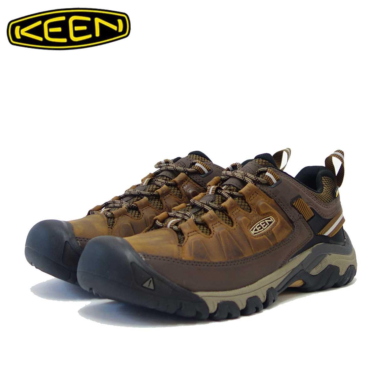 KEEN キーン TARGHEE III ターギー3 WP  1018568(メンズ)カラー:Big Ben / Golden Brown 「靴」