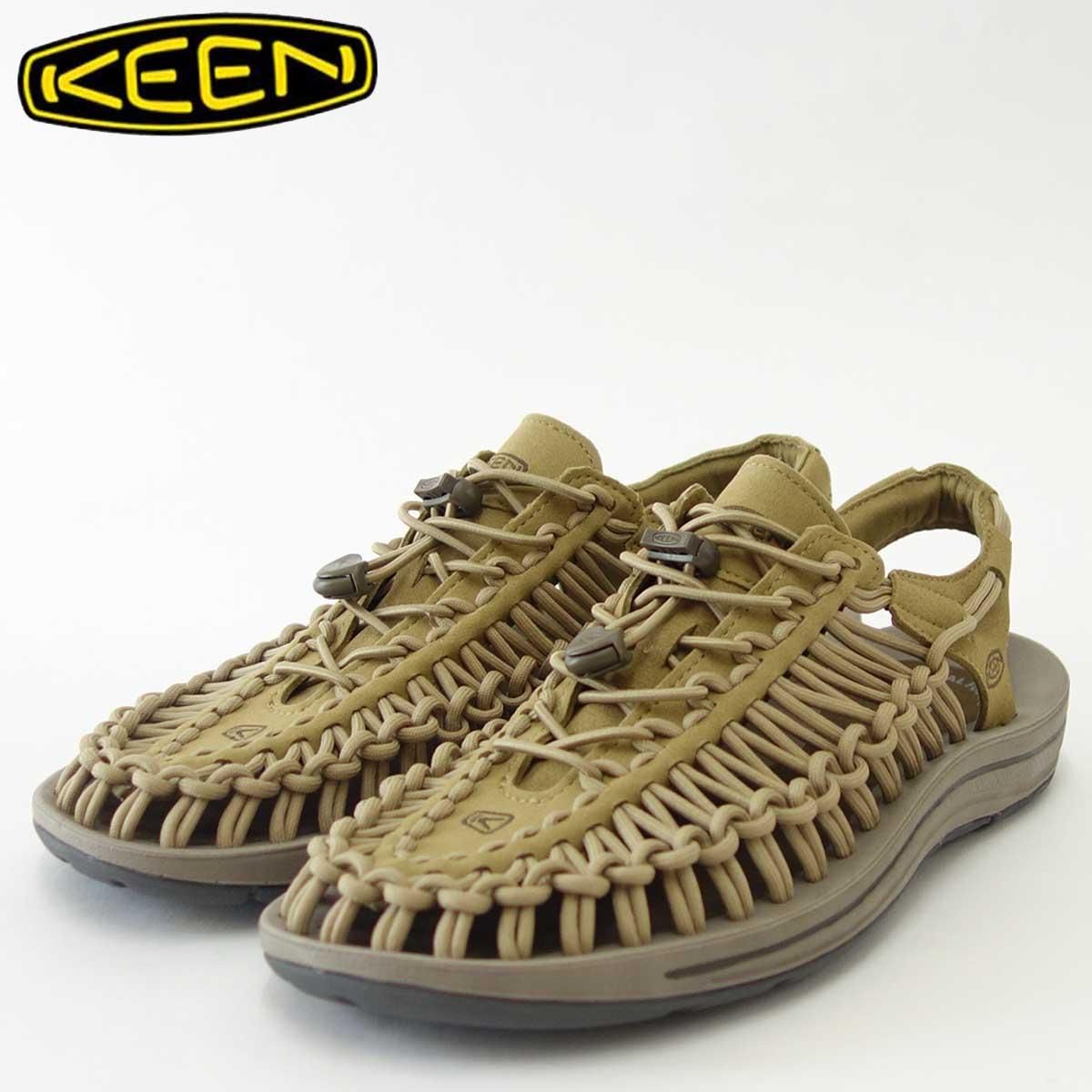 KEEN キーン UNEEK(ユニーク) 1018673(メンズ)キーン独自のハイブリッドサンダル カラー:Antique Bronze/Canteen「靴」